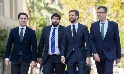 Pablo Casado asks that the Prosecutor's Office act against the ANC and Quim Torra to protect the violence